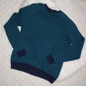 {Old Navy} Turquoise and Navy Sweater